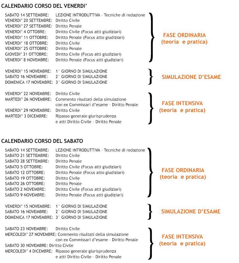 calendario-intensivo-ven-e-sab-2019