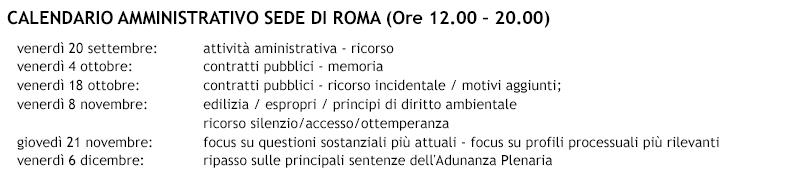 calendario-AMMINISTRATIVO-ROMA